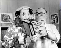 Dr. Max & Mombo The Clown - Cedar Rapids Iowa.  The Dr. Max show was on every week day at 4:00 on WMT.