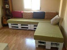 Resultado de imagen para estibas de madera manualidades Pallet Projects, Wood Crafts, Palette, Couch, Storage, Furniture, Home Decor, Decor Ideas, Rooms