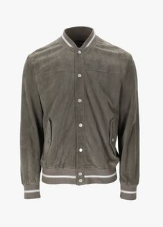 ELEVENTY LEATHER JACKET Mens Shoes Uk, Grey Leather Jacket, Italian Shoes, Rib Knit, Spring Outfits, Shirt Dress, Fall, Clothing, Mens Tops