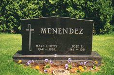 Kitty Menendez - Murder Victim. While watching television with her husband, Jose, the two were murdered by their two sons, Joseph Lyle and Erik Galen Menendez. Both boys were convicted in a highly publicized and televised trial, one of the first publicly televised trials on the new Court Television Channel.
