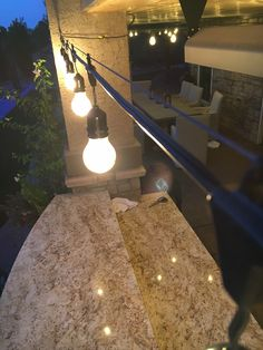 How to plan and hang patio lights patio string lights patio how to hang outdoor string lights using a guide wire more workwithnaturefo