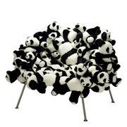 Where to buy??     Is it a stuffed chair with stuffe panda?