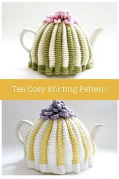 Make a traditional pleated tea cosy with this free knitting pattern. This Tea cosy free knitting pattern will introduce you to the knitting basics and more! knitting for beginners knitting ideas knitting patterns knitting projects knitting sweater Knitting Basics, Knitting Stitches, Knitting For Beginners, Free Knitting, Knitting Projects, Knitting Tutorials, Knitting Ideas, Tea Cosy Knitting Pattern, Tea Cosy Pattern