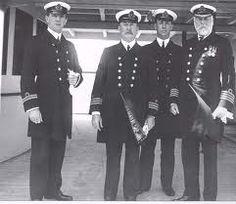 The actual crew of the Titanic