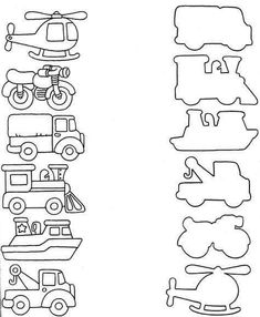 Transportation sort air water or land coloring pages kindergarten unicorn Printable Preschool Worksheets, Kindergarten Math Worksheets, Preschool Learning Activities, Free Preschool, Preschool Activities, Kids Learning, Transportation Worksheet, Transportation Activities, Kids Education
