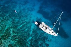 This weekend I set sail with Antlos and Pinktrotters for 3 days cruising around #Ibiza - whoop!
