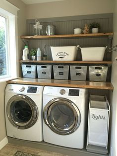 70 Basket Laundry Room Ideas 53