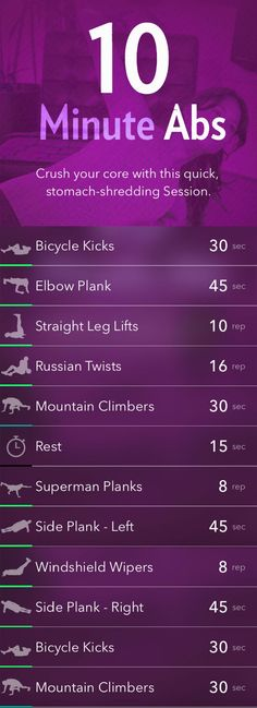 Award winning ab workout plans for free in one place. The best ab exercises burn calories and have the six pack you always dreamed about. 5 infographics, comments from real people who tried these exercises, tips and debunked facts about ab training. Have fun, enjoy journey to perfect six-pack and beautiful body shape!