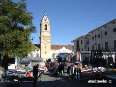#street #local #market #Fontanars #Valencia