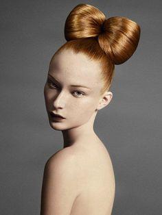HAIR INSPO > Sofia Sanchez and Mauro Mongiello Bow Hairstyle #headingouthairandbeauty #hair #inspiration