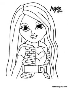 printable moxie girls face avery coloring pages printable coloring pages for kids