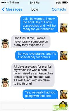 Texts From SuperheroesFacebook | Tapastic | Patreon