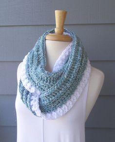 fotos oficiales fedf2 3be6b Las 267 mejores imágenes de bufanda crochet- crochet scarf ...