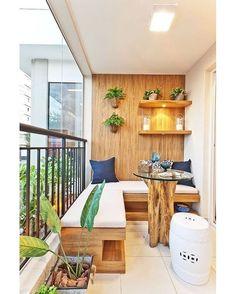 """1,023 curtidas, 23 comentários - HC Store (@hcstorebr) no Instagram: """"A varanda até pode ser pequena, mas a criatividade é grande. #decor #decoracao #decoration…"""""""
