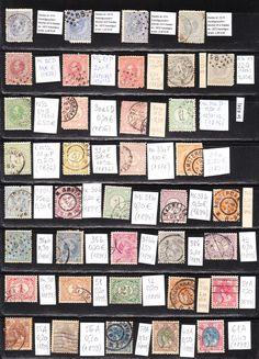 Holland eladó bélyegeim a klasszikus korból.