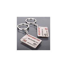 K18 credit card Keyring keychain USD $2.99