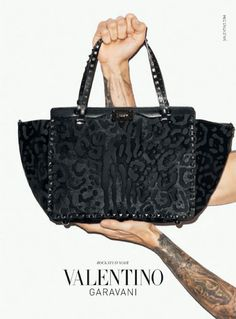Terry Richardson's Valentino Accessories Campaign