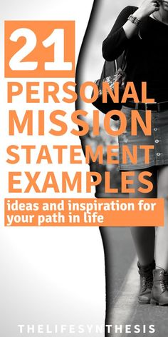 Personal mission statement examples that will help you in your life, career, and anytime you question your path. I've included a worksheet/template that you can get for free (of course) and come up wi Finding Purpose In Life, Purpose Driven Life, Personal Development Books, Self Development, Career Success, Career Change, Career Goals, Success Mindset, Mission Statement Examples