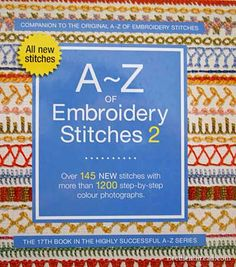 A-Z of Embroidery Stitches 2 published by Country Bumpkin
