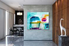 Items similar to Large Abstract Painting,unique painting art,painting extra large,modern abstract,large textured art on Etsy Unique Paintings, Original Paintings, Oversized Canvas Art, Abstract Canvas Art, Abstract Paintings, Colorful Artwork, Bathroom Wall Art, Modern Wall Decor, Texture Painting