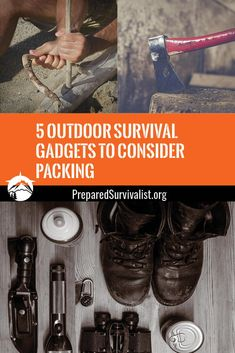Surviving in any outdoor situation means that you have to have the gadgets that can help you. While there are many tools available that offer to help ensure survival, there are five top gadgets that no one should be without. Survival Gadgets, Survival Tools, Survival Prepping, Survival Hacks, Bushcraft Kit, Bushcraft Skills, Camping Equipment, Camping Gear, Top Gadgets
