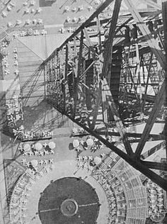 László Moholy-Nagy, Vertical View from Radio Tower, Berlin (1928) –  Bauhaus Abstraction