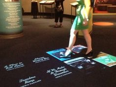 EyeClick's EyeStep Interactive Floor at Country Music Hall of Fame® and Museum