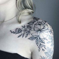 Yarinas Black and Gray Nature Tattoos #BodyArtFemalePhotography