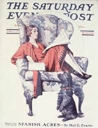 Image result for saturday evening post norman rockwell covers