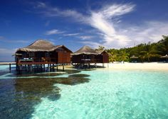 Maldives Honeymoon... Stay In This (Private!) Exotic Over-Water Bungalow At The Anantara Veli Maldives' Resort via unforgettablehoneymoons.com