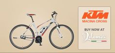 KTM Macina Cross - An e-Bike Suitable for Mountains and the City : http://www.dolomitiebikes.com.au/blog-articles/ktm-macina-cross-an-ebike-suitable-for-mountains-and-the-city
