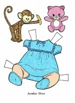Baby paper dolls 60 / Baby paper dolls / Kids printables coloring pages