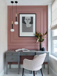 Home Room Design, Home Office Design, Home Office Decor, House Design, Neoclassical Interior, Decoration Bedroom, Home Decor Kitchen, House Rooms, Beautiful Interiors
