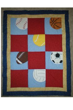 another sport quilt...maybe not so much blue