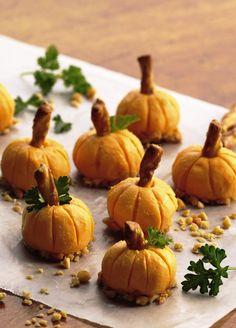 Cheese Pumpkins Recipe for Halloween