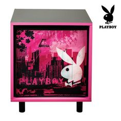 Show details for Playboy City Bedside Table