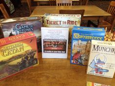 "Interesting library programing idea: ""Tabletop Game Night"""