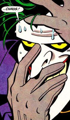 The Joker in Adventures (Dec. Im Batman, Batman Art, Spiderman, Gotham Batman, Batman Robin, Joker Comic, Joker Art, Comic Books Art, Comic Art