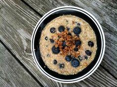 Ravenous Runner Blueberry Quinoa Oatmeal