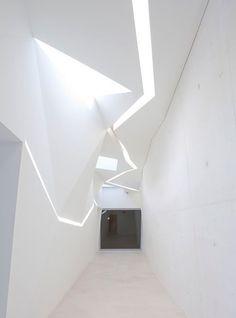 headquarters for mobile phone brand Vodafone in Porto, designed by architects Barbosa & Guimaraes of Matosinhos in Portugal
