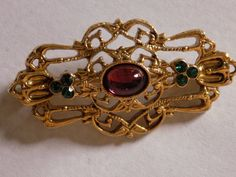 Vintage faux gold tone Victorian style designed by joegems66