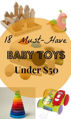18 Must-Have Baby Toys Under $50