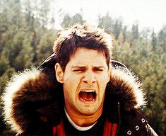 Pinning this lovely GIF of Riley screaming to use later. << Perfect reaction GIF for my feels.