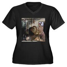 Spinning Wheel Plus Size T-Shirt on CafePress.com