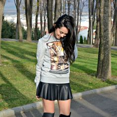 H&M Blouse by Alexandra Moldovan Personal Taste, November, Punk, Blouse, Stuff To Buy, Style, Fashion, November Born, Swag