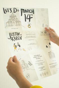 Die Hochzeitseinladung ist wie die Visitenkarte zu eurer Hochzeit. Wir haben euch die 15 schönsten Ideen für Hochzeitseinladungen zusammengestellt.