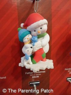 snowman ornaments on Pinterest