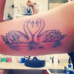 This is it. I want this. #swan #tatt