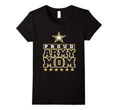 Women's Mom shirt, Proud Army Mom t shirt XL Black: Mom shirt, Mom shirt funny Lightweight, Classic fit, Double-needle sleeve and bottom hem Army Shirts, Army Mom, Classic, Funny, Fit, Sleeves, Mens Tops, T Shirt, Black
