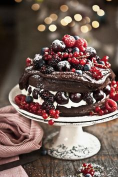 "Torta ""Foresta Nera"" destrutturata"